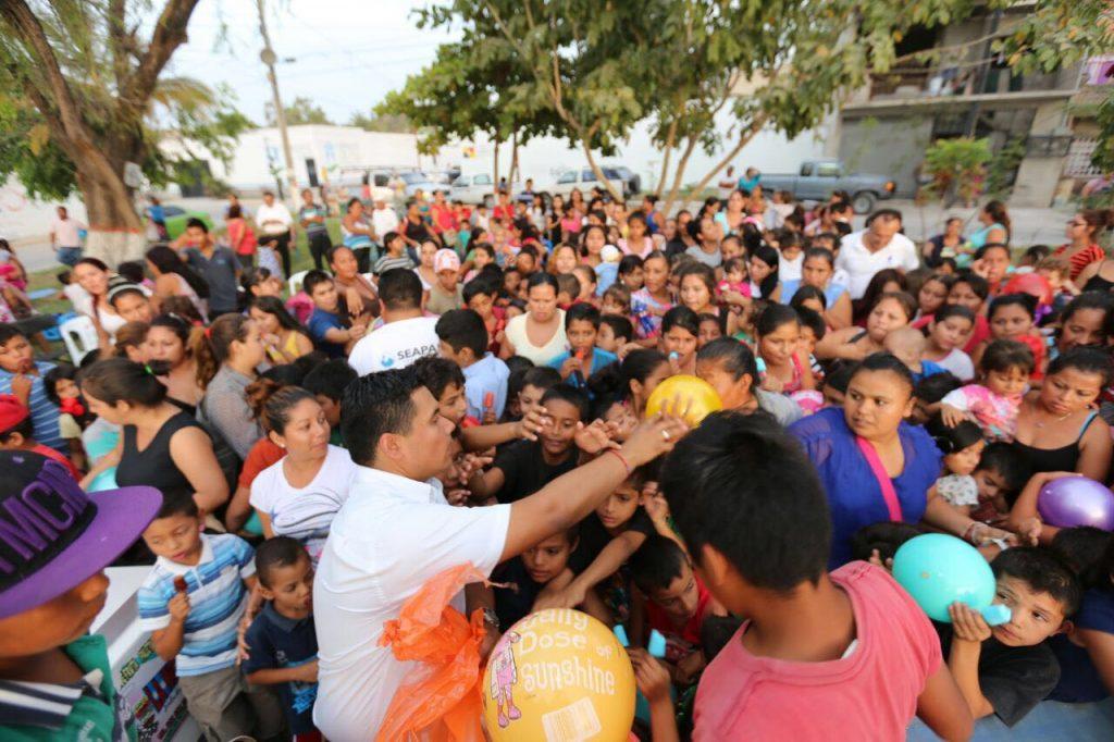 Festeja Seapal a 6 mil niñas y niños Guardianes del Agua