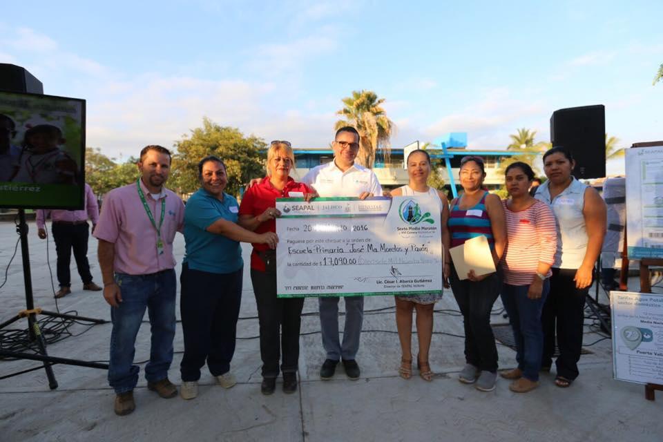 Beneficia Seapal a estudiantes de la Primaria José María Morelos