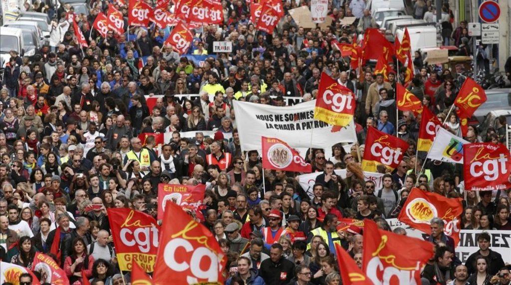 Nuevas protestas contra reforma laboral en Francia