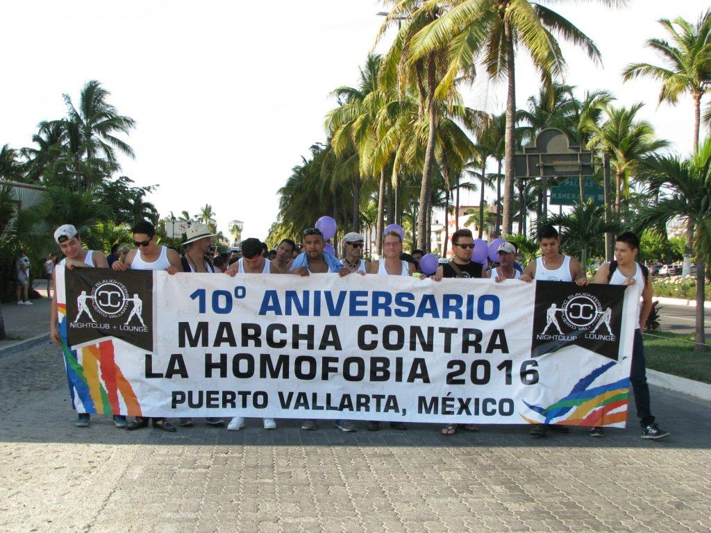 Realizaron marcha contra la Homofobia en PV