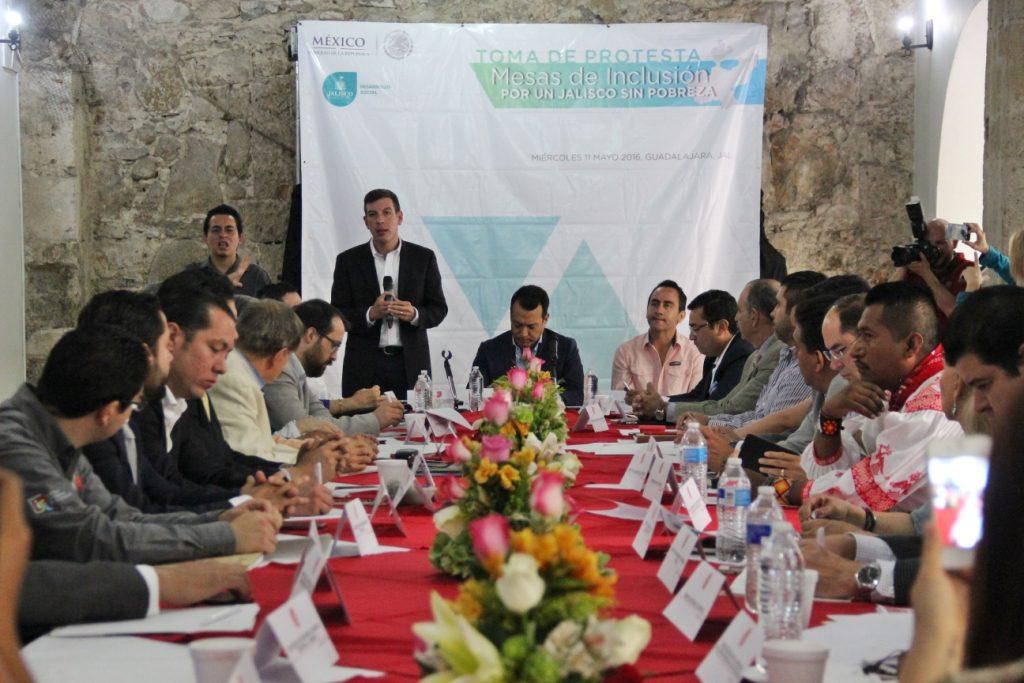 """SEDIS coordina acciones  """"Por un Jalisco Sin Pobreza"""""""