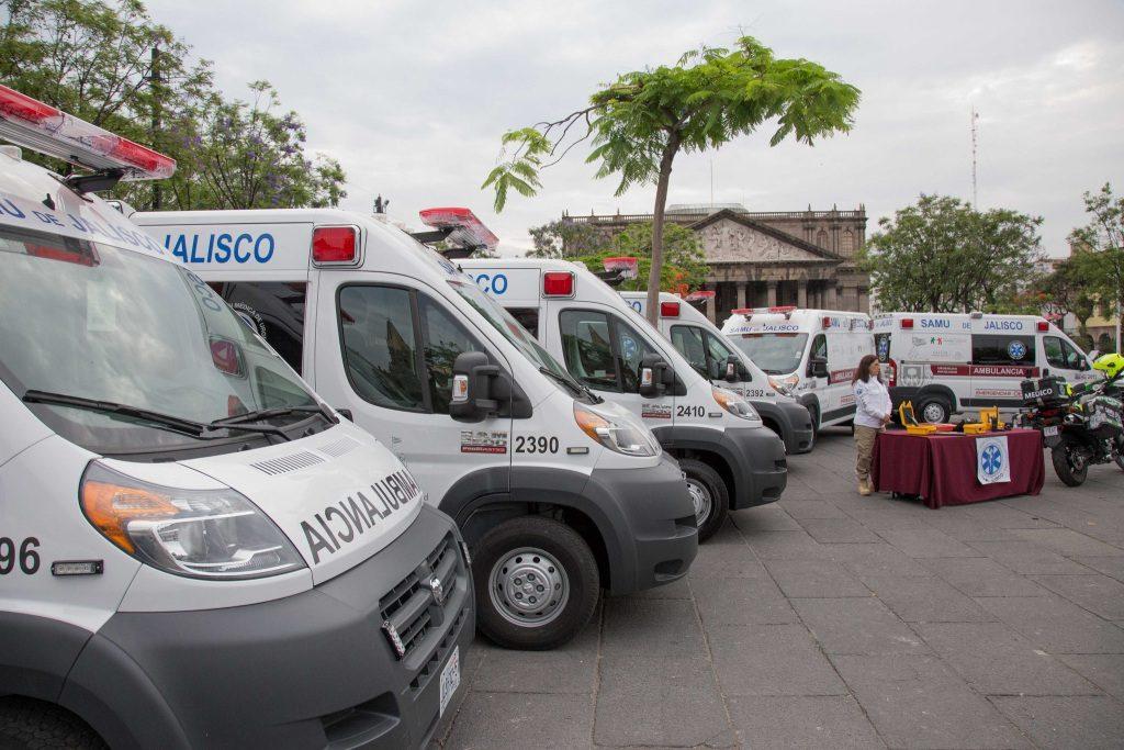Fortalece Jalisco servicios de traslado en emergencias