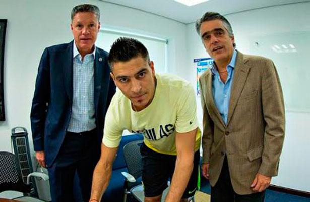 Paolo Goltz firmó una renovación por dos años