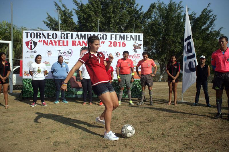"""Finalizó la primera edición del torneo """"Nayeli Rangel"""" con interesantes resultados"""
