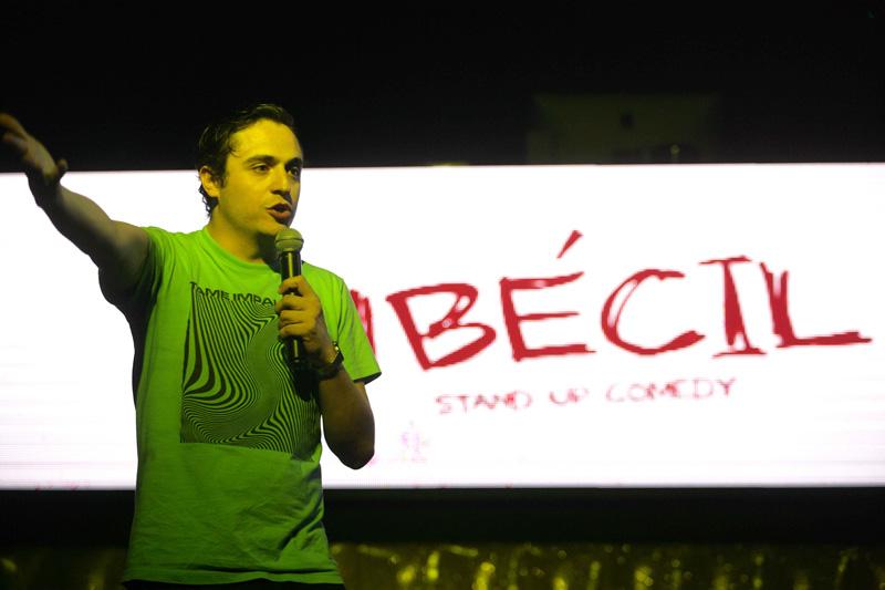 """Ricardo O´Farrill se presentó en La Santa y confirmó ser el """"mandón"""" del Stand Up Comedy actual"""