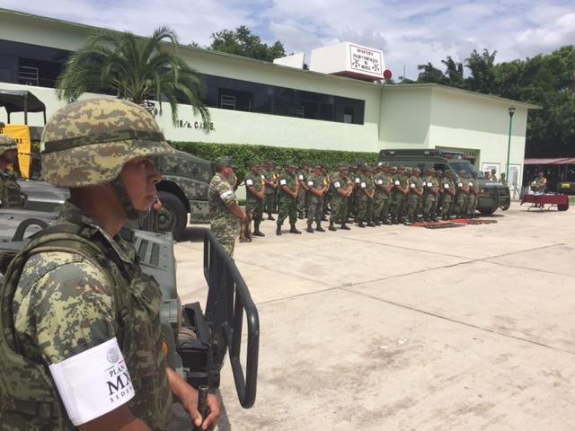 Lista Zona Militar para activar plan DN-III por ciclones tropicales