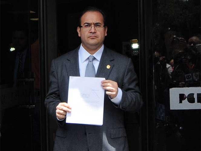 Se extenderá búsqueda de Javier Duarte por 190 países