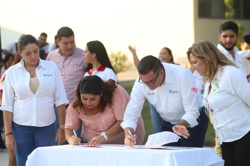 Firma Seapal convenio de colaboración con CECyTEJ Puerto Vallarta