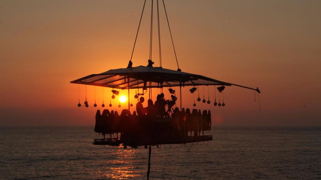 La experiencia Dinner in the Sky  llegará en febrero a Puerto Vallarta