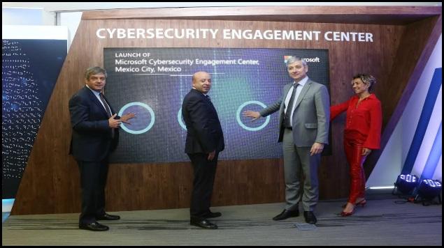 Gobierno mexicano y Microsoft suman esfuerzos en materia de ciberseguridad