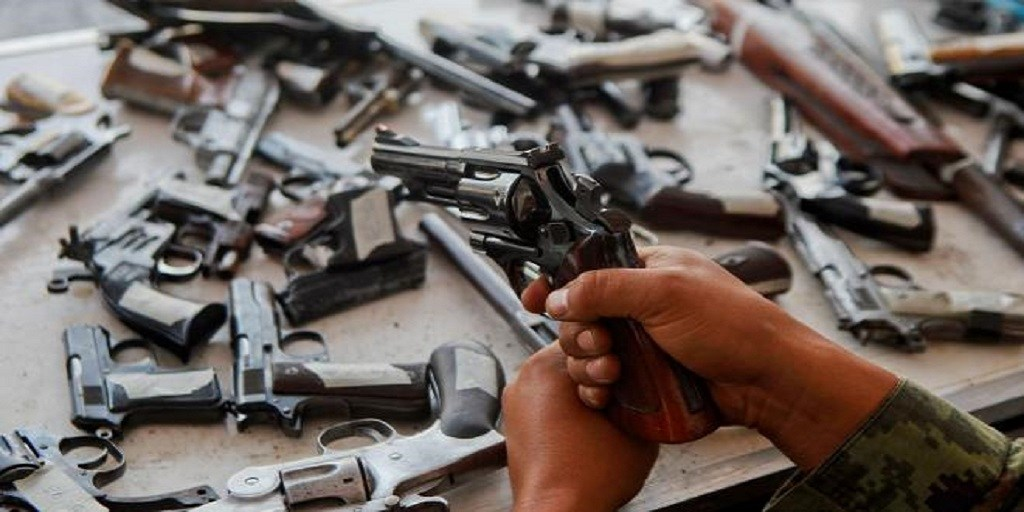 En 10 años ingresaron 3 millones de armas de manera ilegal al país