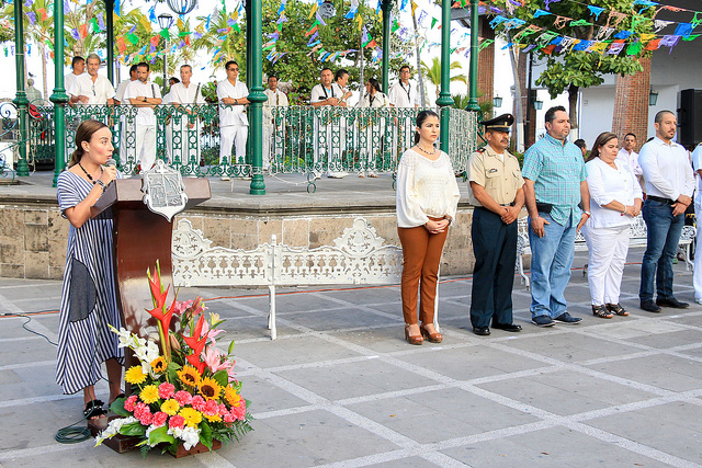 Recuerdan autoridades el nacimiento de Mariano Escobedo