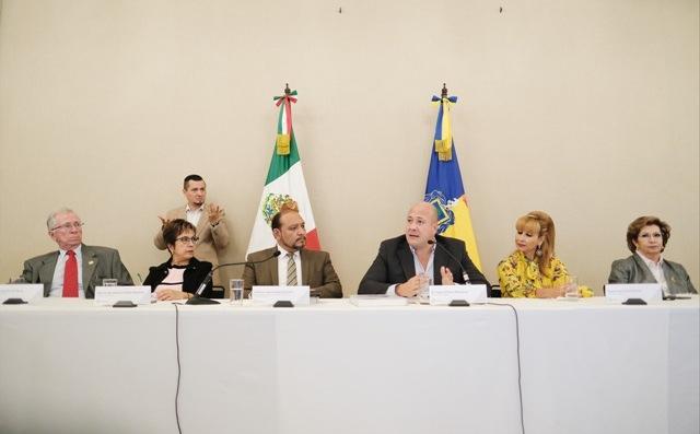 Actual administración colaborará con la Comisión Estatal de Derechos Humanos Jalisco