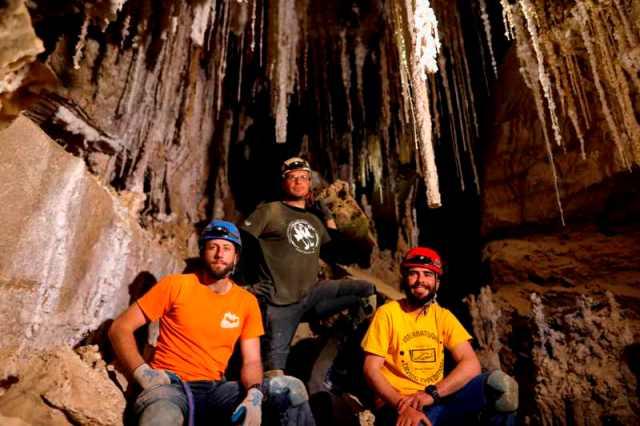 Así es la cueva de sal más larga del mundo descubierta en Israel