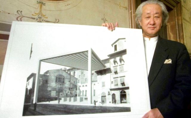 Arata Isozaki es el ganador del Premio Pritzker 2019