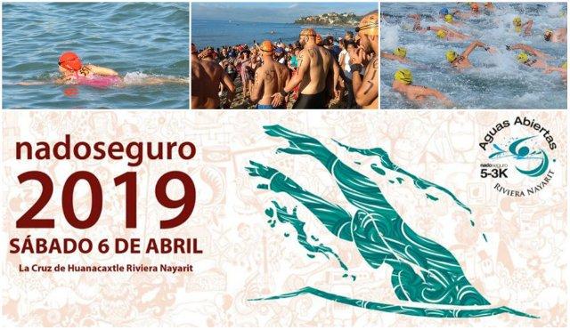 Riviera Nayarit recibe el 9° Aguas Abiertas 2019 Nado Seguro 5-3K