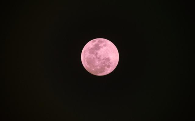 ¿Qué es y cuándo ver la Luna Rosa?