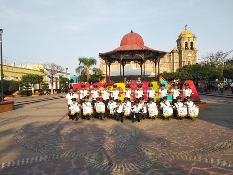 Destacada presencia de escuelas antorchistas en Tequila, Jalisco