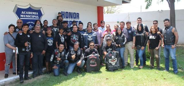 Autoridades y motociclistas unen esfuerzos por la seguridad vial