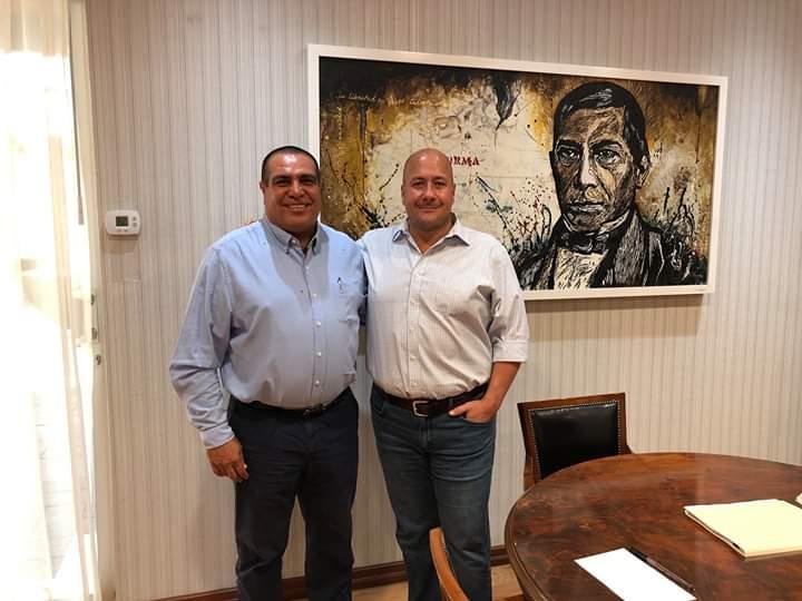 Presume Enrique Alfaro unidad con Arturo Dávalos
