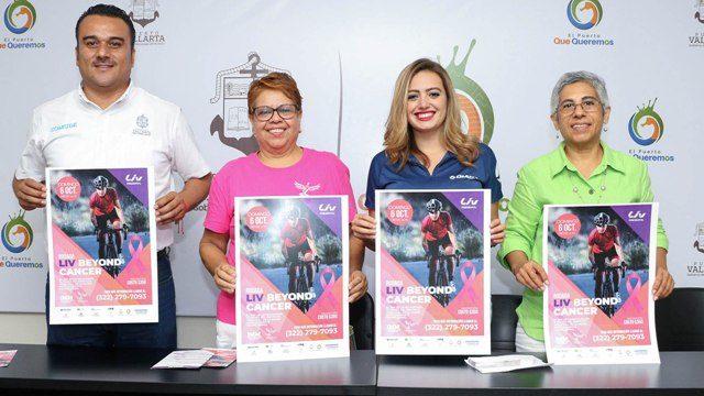 Organizan rodada ciclista con causa Liv Beyond Cancer