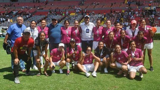 Selección femenil vallartense, subcampeona de la Copa Jalisco
