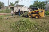 Realizan mejora de áreas verdes y calles en El Salitrillo