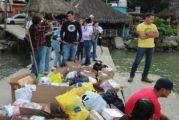 """""""Brigadas Universitarias """"del CUCosta, llevó ayuda a familias del poblado de Pizota"""