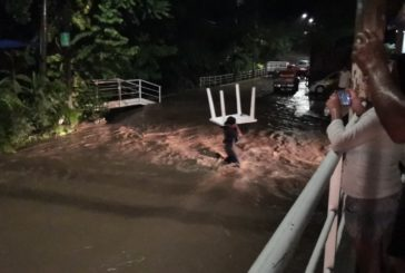 Se desborda de nuevo el río Cuale