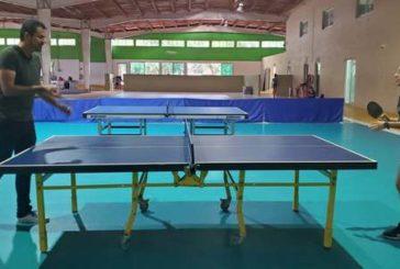 Organiza Comude primer torneo de tenis de mesa