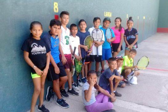 """Alistan tercer torneo de frontenis """"Lupita Hernández"""""""