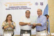 Se integran 38 nuevos policías al servicio de Puerto Vallarta