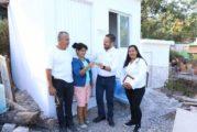 Reciben 23 familias más, las llaves de su 'Cuarto Adicional'