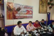 Anuncian en Jalisco Espartaqueada Deportiva Nacional 2020