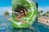 Demi Moore se relaja en la paradisíaca Riviera Nayarit