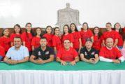 Presentan al equipo de básquetbol Marineras de Puerto Vallarta