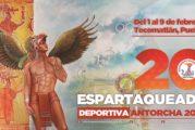 Convoca Antorcha a su Espartaqueada Deportiva 2020