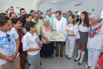 Biblioteca de Las Mojoneras se transforma en un espacio digno