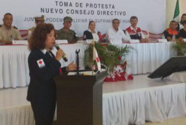 Nuevo consejo de Cruz Roja Puerto Vallarta rinde protesta