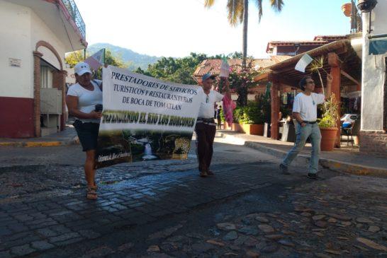 Exigen clausura definitiva de obra de hidroeléctrica en el río Los Horcones
