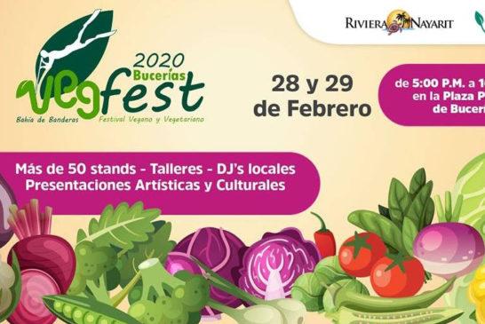 Veg Fest Bucerías 2020 promueve el estilo de vida saludable en Riviera Nayarit