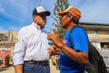 Apoyo alimentario para 7 mil 500 familias, anuncia Dávalos