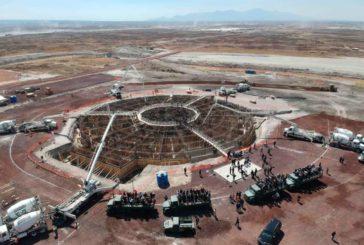 Pese a contingencia, continúa construcción de aeropuerto en Santa Lucía