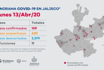Se registran dos casos más de Covid-19 en Puerto Vallarta; suman ya 14 contagios y tres defunciones en esta ciudad