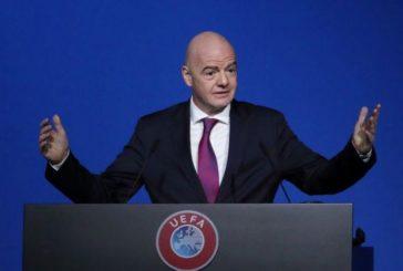 El futbol no podrá reanudarse pronto, advierte Gianni Infantino
