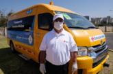 Presenta Alfaro transporte de personal médico ante contingencia sanitaria por COVID-19