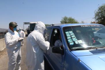 Instalan filtro sanitario en la carretera 544