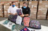 Llegan primeros 9 mil paquetes de útiles escolares con mochila