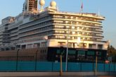 Realizan cuarto desembarque del crucero Koningsdam