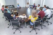 Municipio y empresarios, juntos por la reactivación del Centro